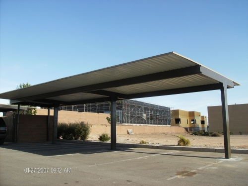 Commercial Steel Carports : Rader awning metal awnings carports