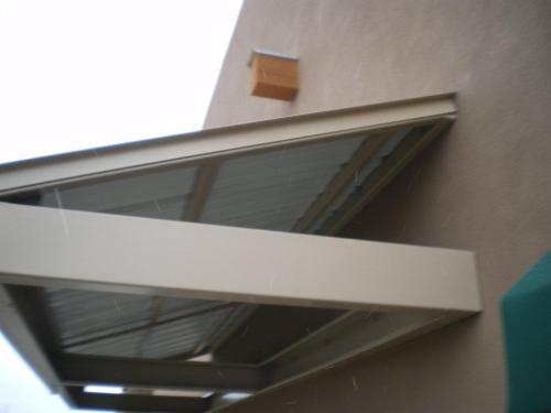 Standard Slope Metal Canopy - Rader Awning