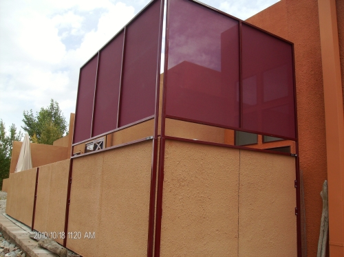 Vertical Shade - Rader Awning