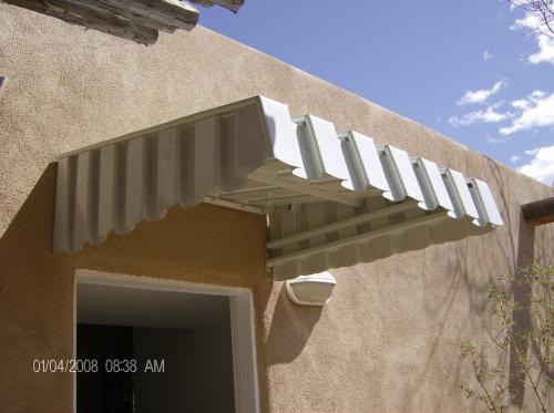 Aurora Prefabricated aluminum awning- Rader Awning