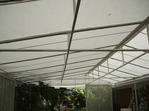 Gable Fabric Patio Cover - Rader Awning