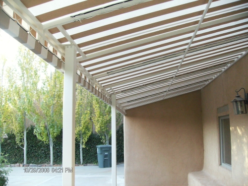 Standard Slope Fabric Patio Cover