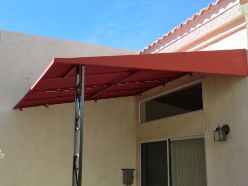 Standard Slope Fabric Patio Cover - Rader Awning