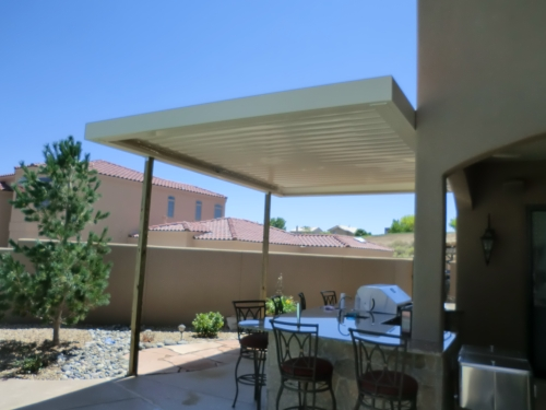 Equinox Louvered Roof - Rader Awning