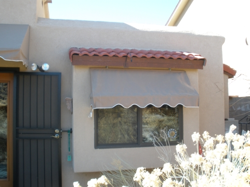 Rope and Pulley Awning - Rader Awning