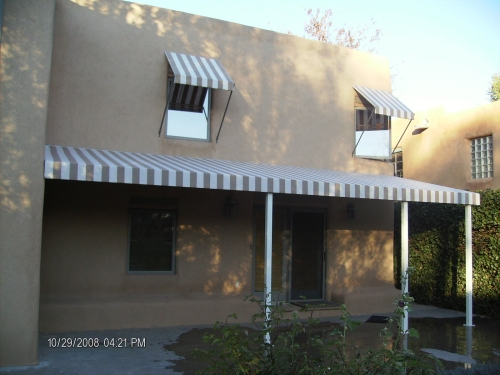 Standard Slope Awning, Fabric Patio Cover - Rader Awning