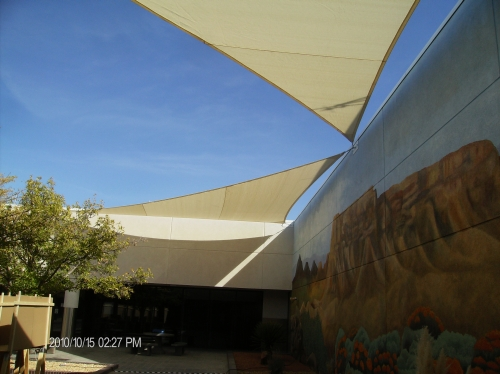 Shade Sails | Albuquerque and Santa Fe
