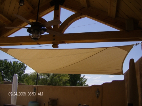 Square Shade Sail - Rader Awning