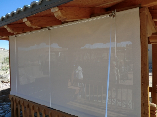 Rope and Pulley Curtain - Rader Awning
