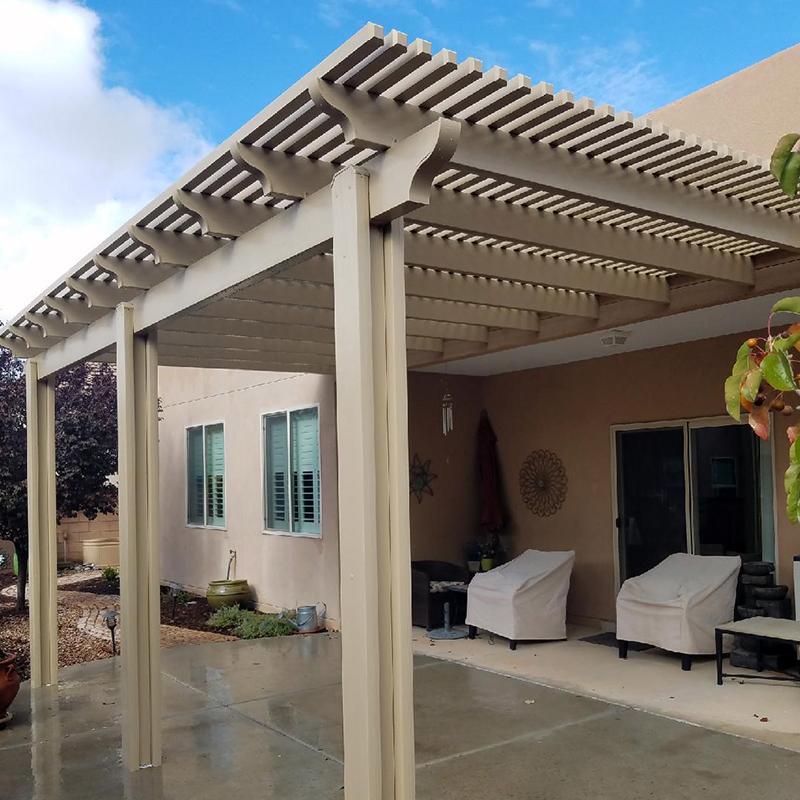 Aluminum Pergola Canopy Albuquerque And Santa Fe